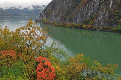 Autumn at the Danube Gorges Royalty Free Stock Photos