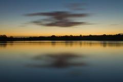 Autumn dawn Stock Photo