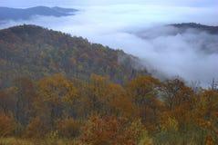 Autumn Dawn, Shenandoah Stock Images