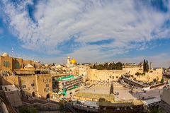 Autumn day in Jerusalem Royalty Free Stock Photo