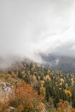 Autumn day in the mountains Royalty Free Stock Photo