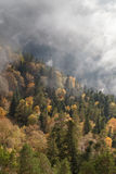 Autumn day in the mountains. Caucasus, Russia Stock Images