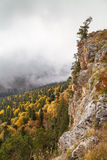 Autumn day in the mountains. Caucasus, Russia Stock Photos