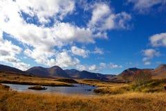 Autumn Day Near Loch Ba fotografia de stock royalty free