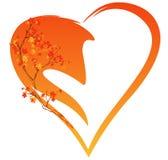 Autumn decor vector Royalty Free Stock Photo