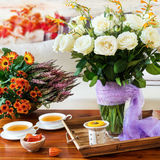 Autumn - decoration - home Royalty Free Stock Images