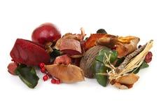Autumn decoration material Stock Photo