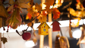 Autumn decoration Stock Photography