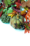 Autumn Decorations Royalty Free Stock Photos