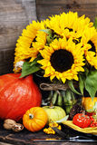 Autumn Decorations stock afbeeldingen