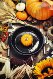 Autumn Decorations stock afbeelding