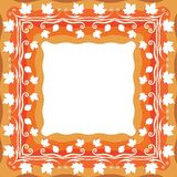 Autumn Decorative Frame Photos stock