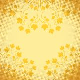 Autumn Decorative Frame. Vector illustration with transparency and mesh. EPS10 Stock Photography