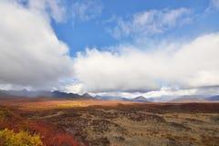 Autumn on Denali Hwy, Alaska Stock Photo