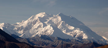 Autumn in Denali & Mount McKinley Royalty Free Stock Photography