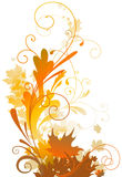 Autumn design Stock Photography