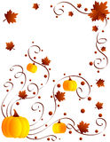 Autumn design Stock Images