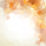 Autumn design background with colorful. EPS 10 Stock Photography