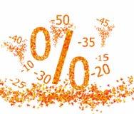 Autumn discounts Stock Images