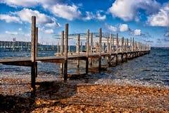 Autumn Dock Arkivfoton