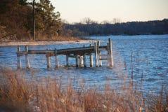 Autumn Dock Photo libre de droits