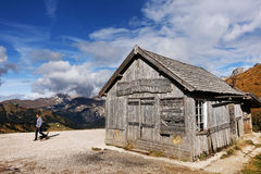 Autumn in Dolomites Royalty Free Stock Images