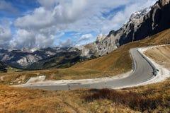 Autumn in Dolomites Stock Image