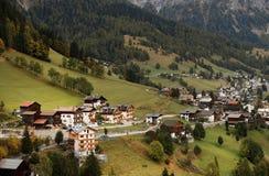 Autumn in Dolomites Stock Photo
