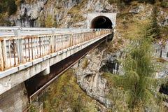 Autumn in the Dolomites Mountains Royalty Free Stock Image