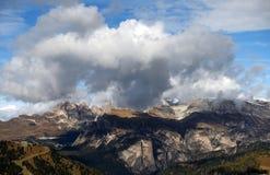 Autumn in the Dolomites Mountains Stock Photos