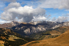 Autumn in the Dolomites Mountains Royalty Free Stock Images