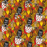Autumn doodles - Fall Royalty Free Stock Photography