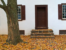 Autumn Doorstep Royalty Free Stock Photography