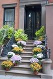 Autumn Doorsteps Stock Image