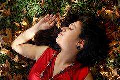 Autumn dreames Royalty Free Stock Photo