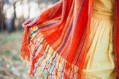 Autumn dress code. Royalty Free Stock Image