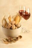Autumn drink Stock Image