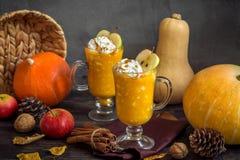 Autumn Drink para la acción de gracias Imagen de archivo libre de regalías