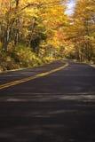 Autumn Drive Royalty Free Stock Photos