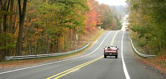 Autumn Drive Stock Image