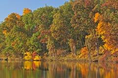 Autumn, Eagle Lake Royalty Free Stock Images