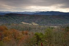 Autumn, East Tennessee. Near Foothills Parkway stock images
