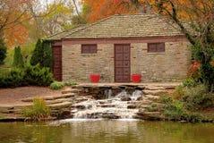 Autumn at Eden Park stock photo