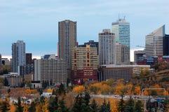 autumn Edmonton obrazy royalty free
