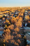 Autumn edmonton cityscape Royalty Free Stock Photography