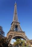 Autumn Eiffel Tower Royalty Free Stock Image