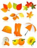 Autumn Element Set Royalty Free Stock Image