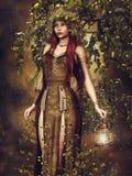 Autumn elf Royalty Free Stock Photo