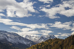 Autumn in Engadine Royalty Free Stock Photos