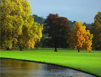 Autumn in England. Audley End Gardens, Essex Stock Photography
